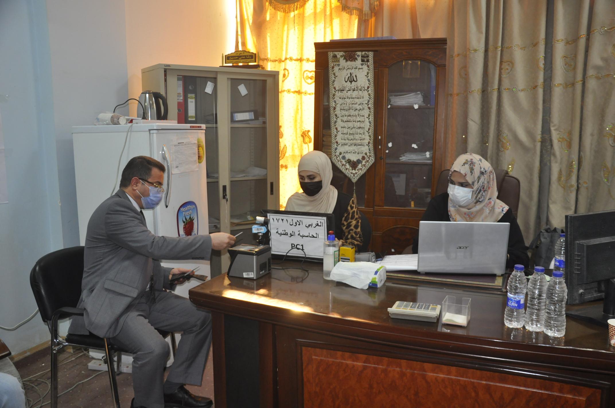 كلية الهندسة تستضيف لجنة المفوضية العليا المستقلة للانتخابات